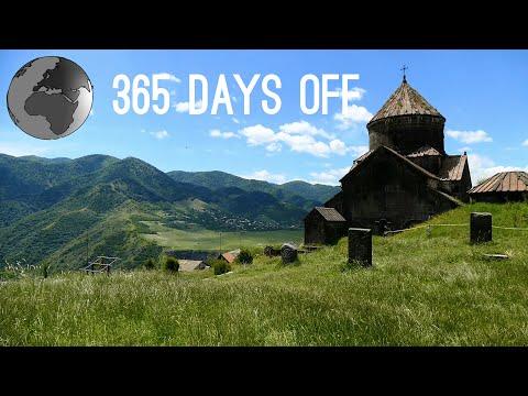 Episode 11 - Armenia - Alaverdi, Areni, Goris & Etchmiadzin / 365 Days Off - Travel Around The World