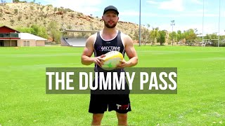 Rugby Skills   The Dummy Pass