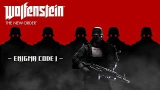 Wolfenstein: The New Order - How To Solve Enigma Code 1
