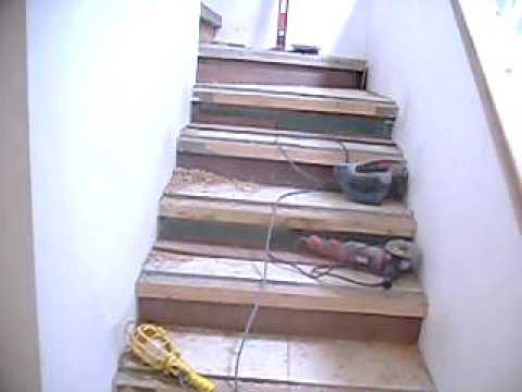 Jose solera remodelacion condo infra para escaleras for Como trazar una escalera de metal