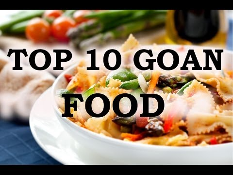 TOP 10 POPULAR FOOD OF GOA