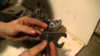 Montage moteur am6 #1 La boîte de vitesse