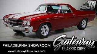 1970 Chevrolet El Camino, Gateway Classic Cars - Philadelphia #637