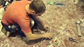 видео Потолочные светильники встроенные в гипсокартонную конструкцию
