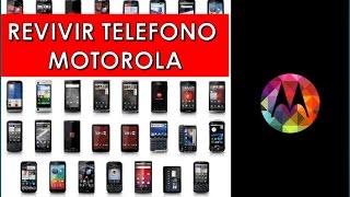 REVIVIR, CARGAR SOFTWARE A TELEFONO MOTOROLA