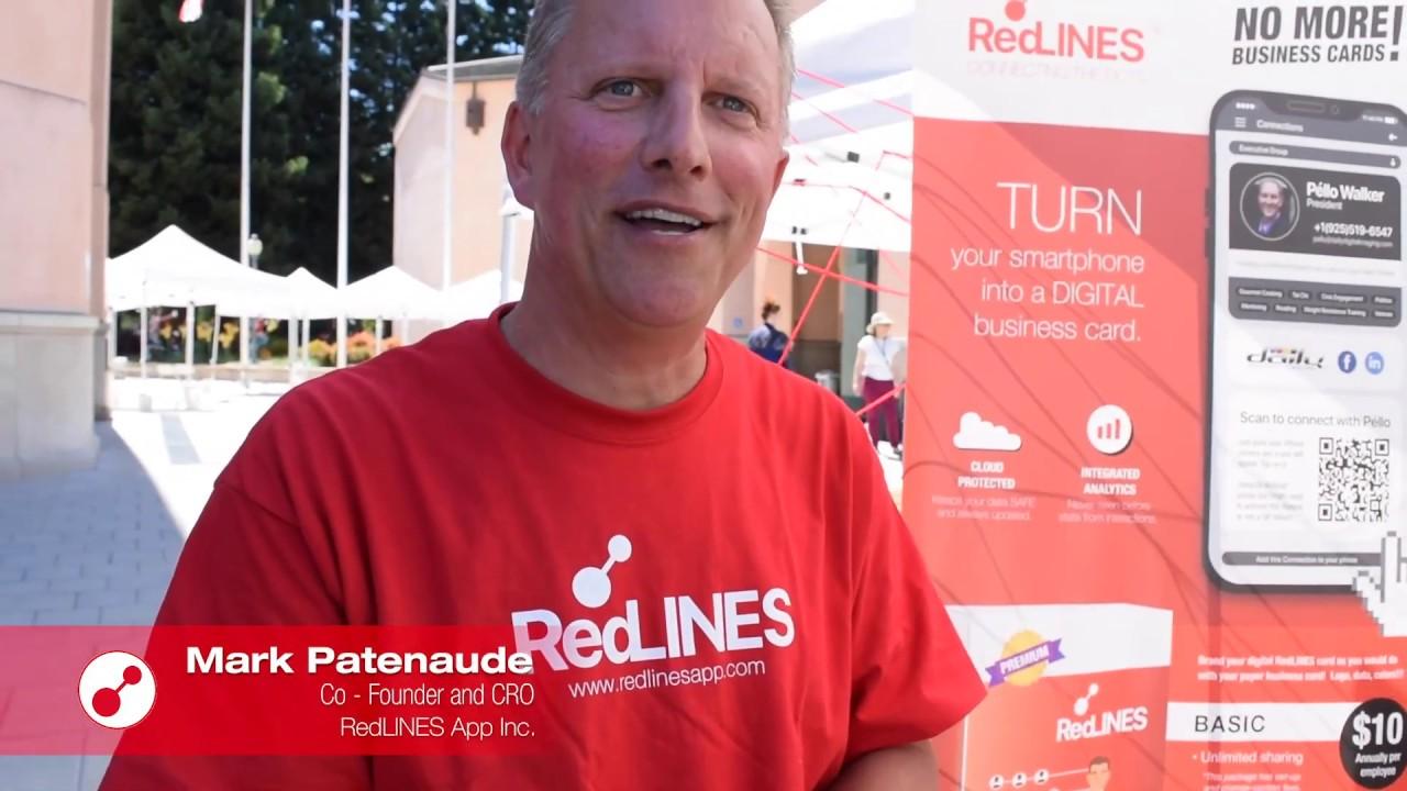 Mark Patenaude, at the Mountain View Technology Showcase 2020