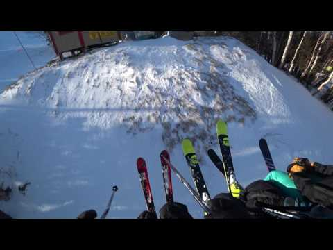 Skiing At Cannon - 12/26/16 - Part 1 of 2