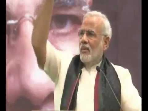 Narendra Modi Hindi speech at SRCC Delhi 6/2/2013