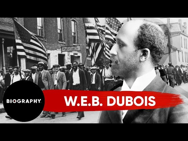 W.E.B. Du Bois:  Activist Leader in Niagara Movement & Co-Founder of the NAACP | Mini Bio