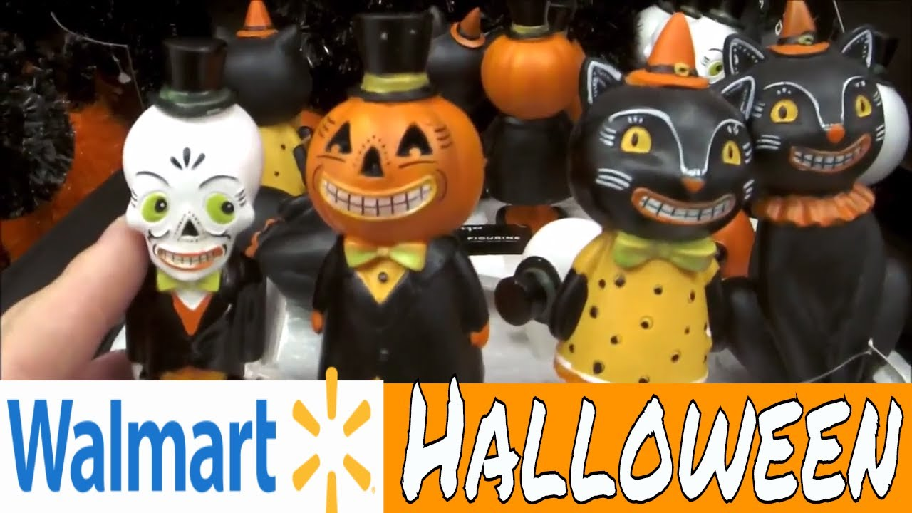 walmart vintage halloween decor shop with me - Walmart Halloween Decorations