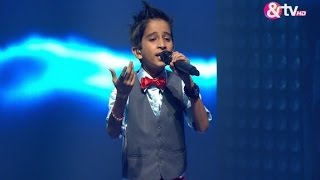 Vishwaprasad Ganagi - Neele Neele Ambar Par - Liveshows - Episode 20 - The Voice India Kids