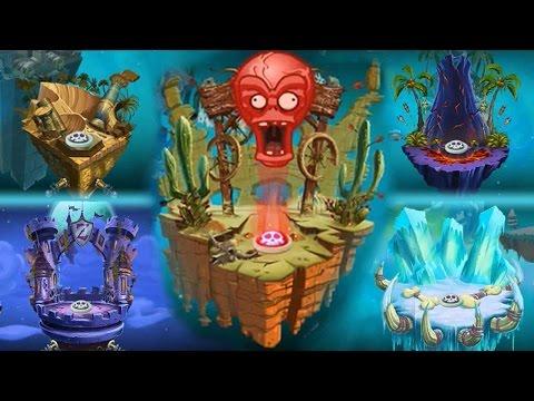Plants vs Zombies 2 - New Zomboss Podiums Changed