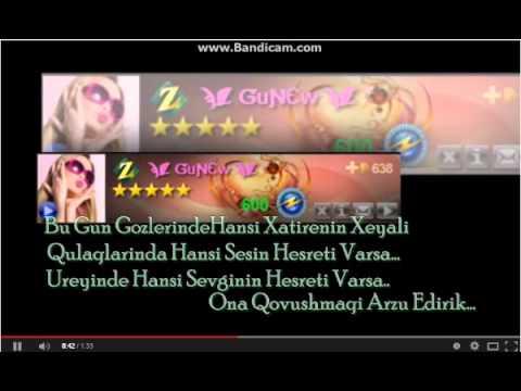 Günəş adına özel doğum günü təbrik videosu Günəş ad günün mübarək videosu