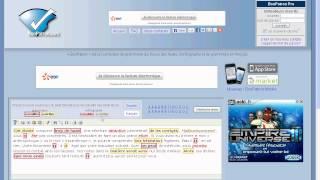 correcteur d'orthographe en ligne