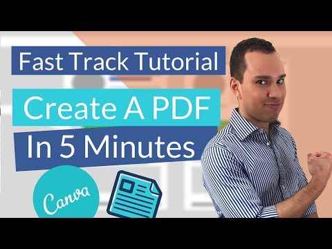 How To Create PDF With Canva (Quick Start Guide)