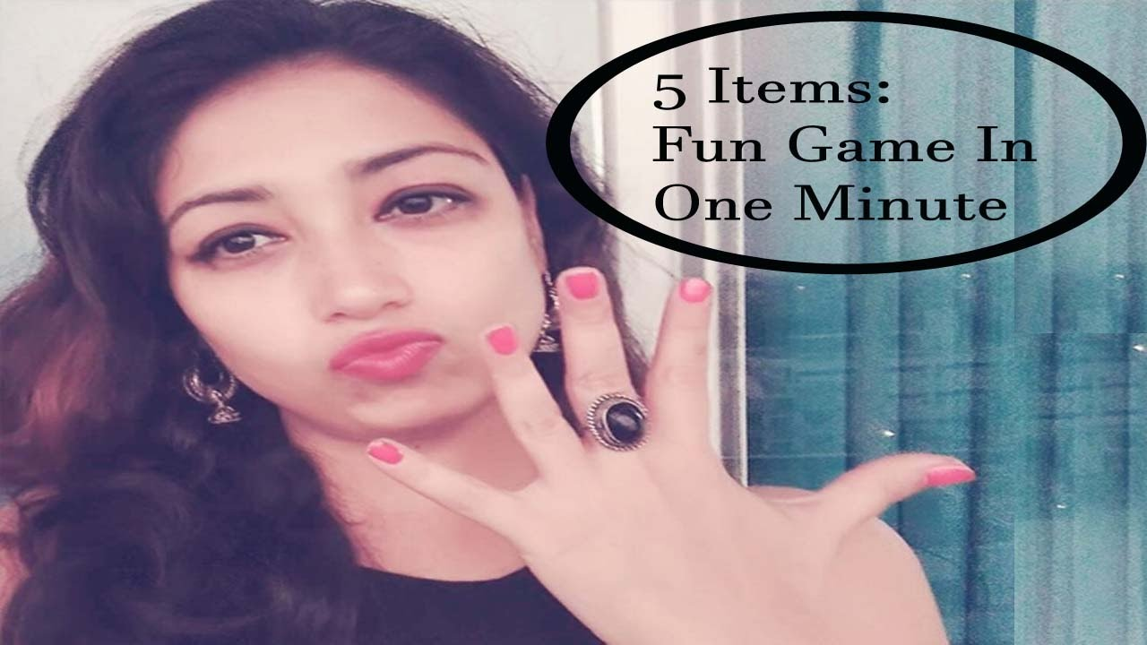 fun kitty party game for ladies 5 items youtube