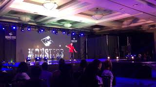 Houdini solo at Monsters of Hip Hop Dance Convention A-List 2018 LA Video