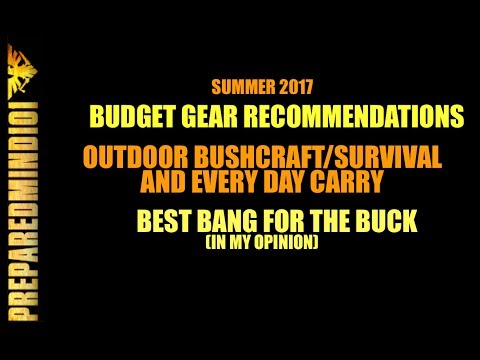 Summer 2017: My Picks For Best Budget Woods and EDC Gear - Preparedmind101