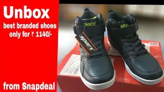 unboxing Best shoes only for 1140/- | from Snapdeal | जरूर देखें