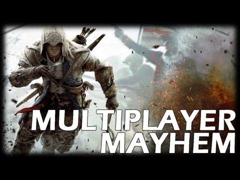 Assassin's Creed 3 Multiplayer Mayhem - Episode 1 (Simple Deathmatch)