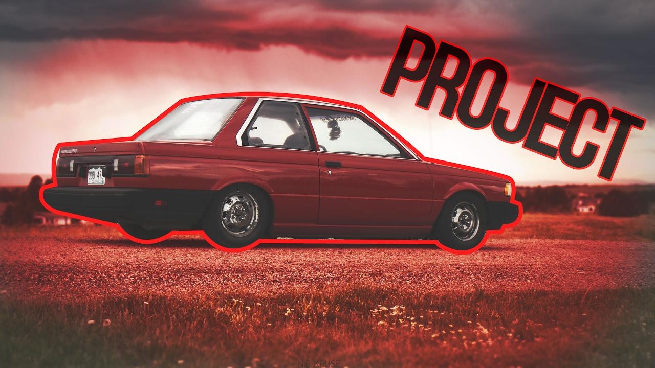 Project Car 1989 Nissan Sentra