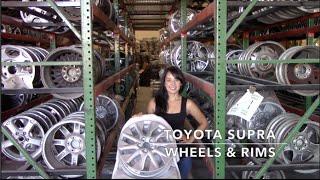 Factory Original Toyota Supra Rims & OEM Toyota Supra Wheels – OriginalWheel.com