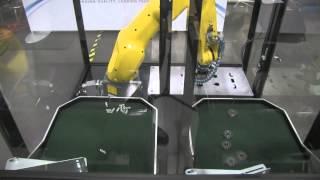 Flexible Part Feeding with Graco's G-Flex™ 1500 Feeder and FANUC Robots