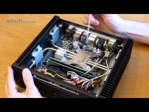 Fanless PC internal heat pipes explained