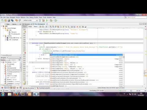 Cara Coding Java Di Netbeans
