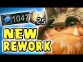 RIOT PUT US IN THE GAME!! 1000+ AP NEW NUNU BOT REWORK SPOTLIGHT | THIS SKIN IS TOXIC AND AMAZING