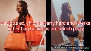 Davido's ex, chioma Party and twerks in the Party she hosted for the prelaunch of her bag business