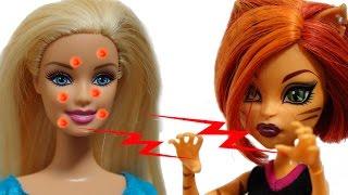 Барби куклы Подарок на день рождения Барби от Монстр Хай(Барби отмечает свой День Рождения! Куклы подружки и Кен поздравили куклу Барби с праздником и подарили..., 2016-05-11T05:00:01.000Z)