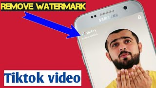 image SAVE TIK TOK MUSICALLY VIDEOS WITHOUT WATERMARK IN PHONE)BY      technical jameel