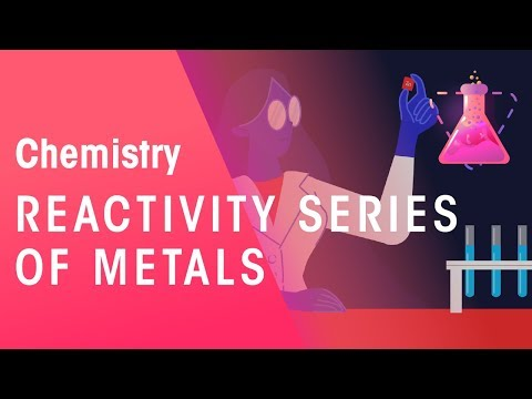 Reactivity Series Of Metals | Environmental | Chemistry | FuseSchool