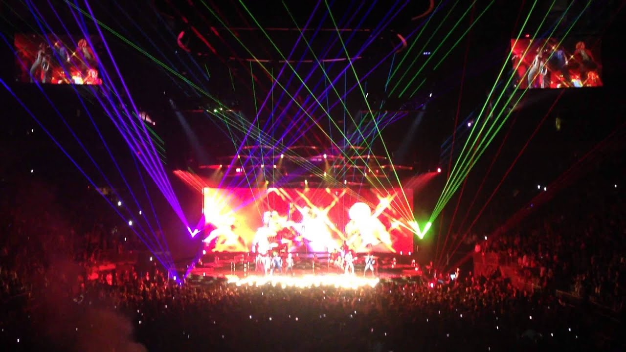 Bruno Mars Locked Out Of Heaven Madison Square Garden July 14 2014 Youtube
