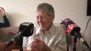 Margarita Von Holtum cumple 100 jóvenes años.