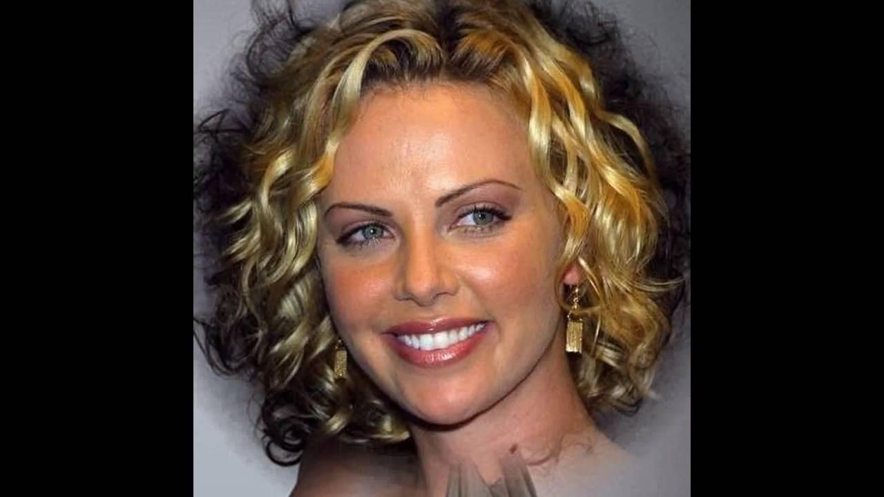Cortes de cabello rizado para cara redonda