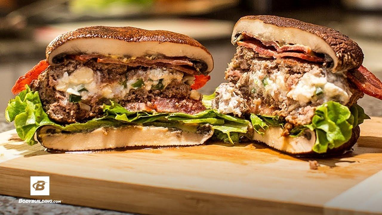 Smokin' Jalapeno Popper Burger   Fuel & Gainz by Fit Men Cook