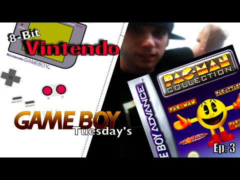 8-Bit Vintendo Gameboy Tuesday's Ep 3: Pac Man Collection (GBA)