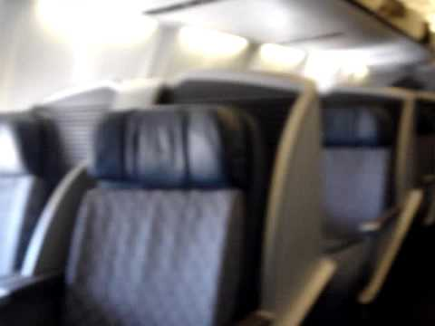 American Airlines Business Class 757 International Youtube
