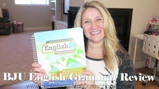 bju press english homeschool curriculum review