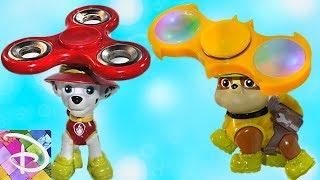 Щенячий патруль новые серии Крепыш против Спиннер Мультики для детей Развивающие мультфильмы Игрушки