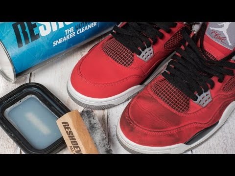 How to clean dirty Jordan 4 Toro Bravo