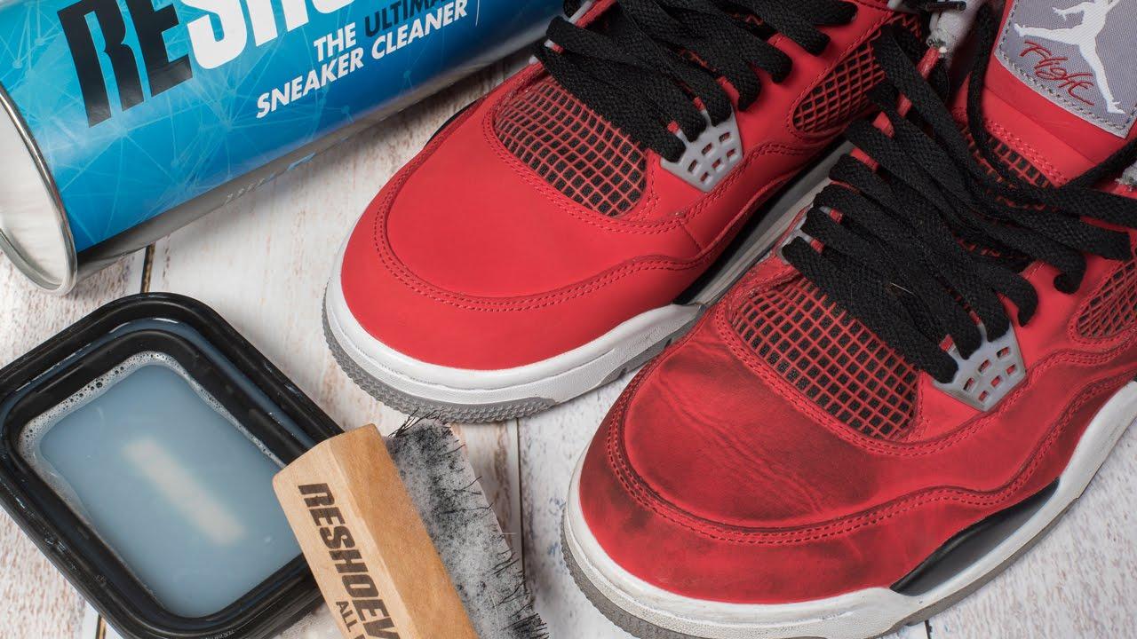 59048f855ad5 How to clean dirty Jordan 4 Toro Bravo - YouTube