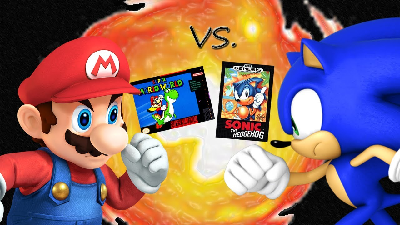 Super Mario World VS. Sonic the Hedgehog - Mario vs. Sonic Ep 1 ...