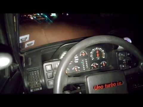 FIAT UNO TURBO 2.0 16V-400HP PROBA 2 ON BOARD