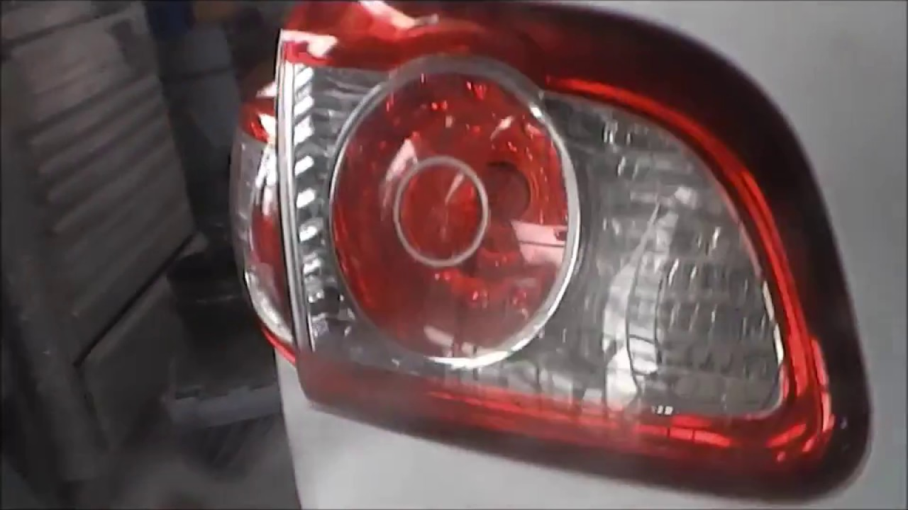How To Replace A Hyundai Santa Fe Tail Lamp Light Or Bulb On Quarter And Hatch