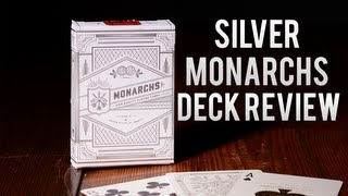 Deck Review - Silver Monarch Playing Cards [Theory11]