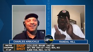 "Randal Hill talks about ""The U"", life after the NFL and the law on CHOPPIN' IT UP with BUCK 