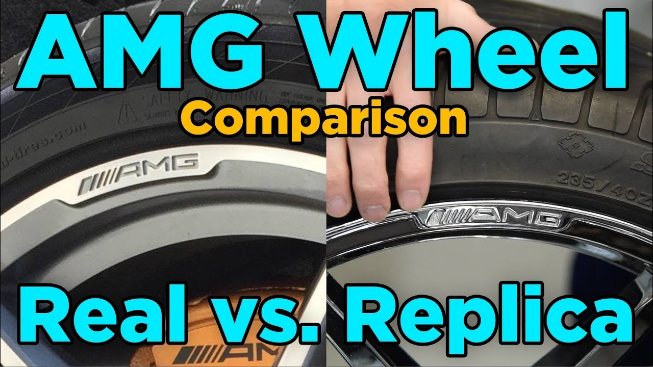 Amg Wheels Real Vs Replica Comparison